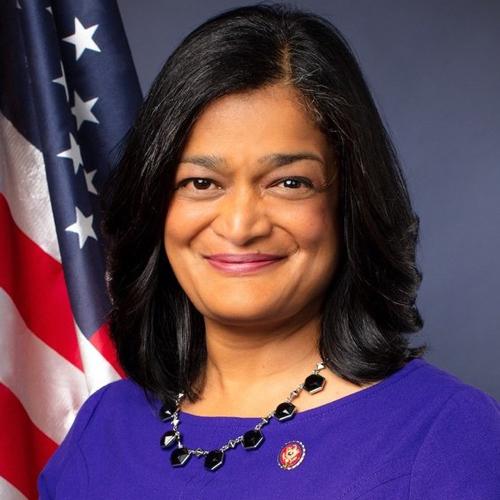 Representative Pramila Jayapal  Washington's 7th Congressional District
