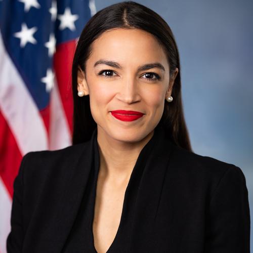 Representative Alexandria Ocasio-Cortez   New York's 14th Congressional District
